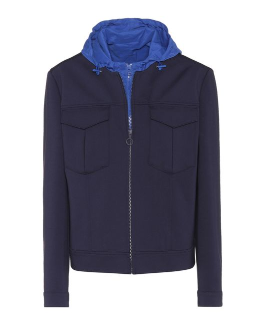 Tory Sport | Blue Tech Ponte Jacket | Lyst