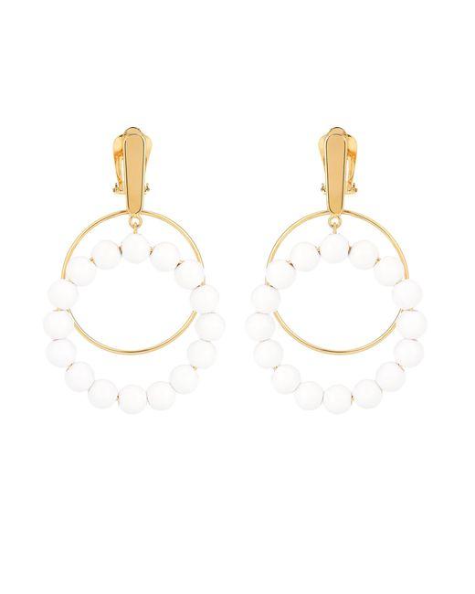 Marni - White Beaded Earrings - Lyst