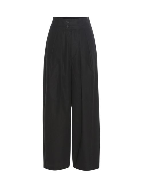 Isabel Marant   Black Leroy Cotton Trousers   Lyst