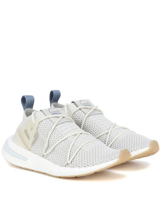 best service e6447 9eab0 Adidas Originals - Gray Zapatillas Arkyn Primeknit - Lyst ...