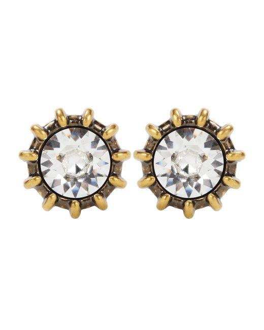 Gucci   Metallic Crystal Earrings   Lyst