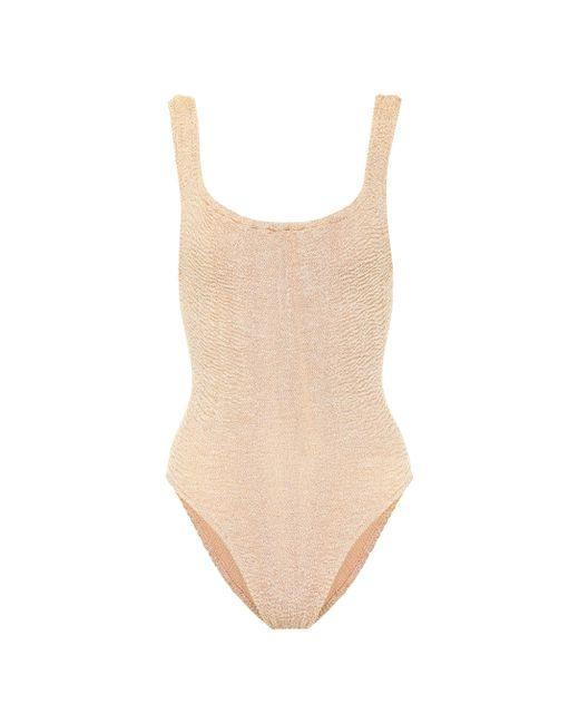 Hunza G - Multicolor Classic Swimsuit - Lyst