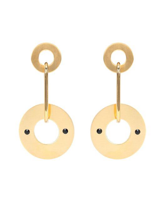 Marni - Metallic Disc Drop Earrings - Lyst
