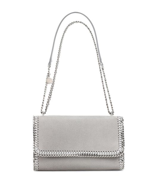 Stella McCartney - Gray Falabella Shaggy Deer Shoulder Bag - Lyst
