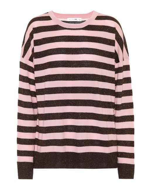 Rag & Bone - Pink June Wool-blend Sweater - Lyst