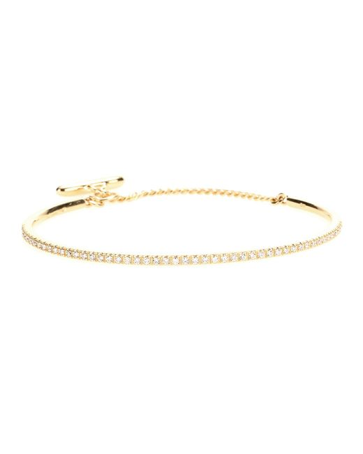 Roberto Marroni | 18kt Yellow Gold Bracelet With White Diamonds | Lyst
