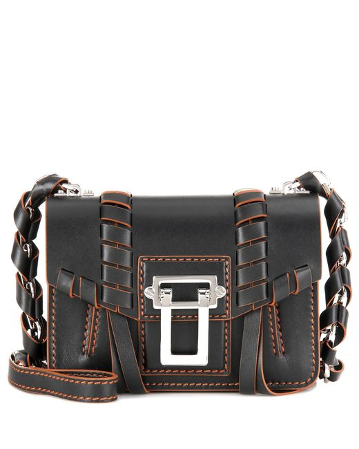 Proenza Schouler | Black Hava Chain Leather Cross-Body Bag | Lyst