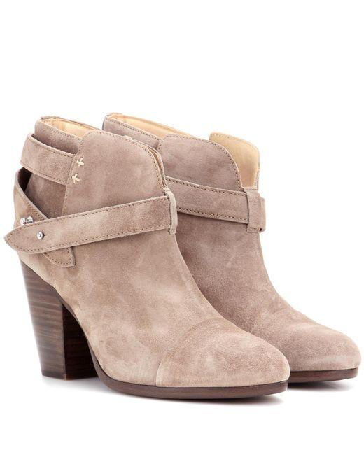 Rag & Bone | Brown Harrow Suede Ankle Boots | Lyst