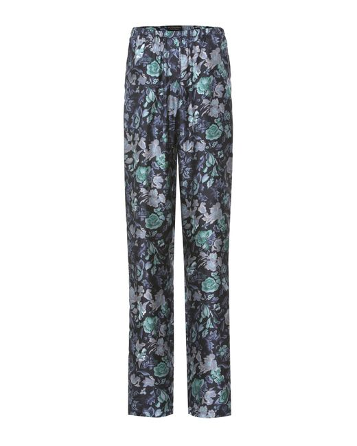 Burberry | Blue Printed Pyjama Trousers | Lyst