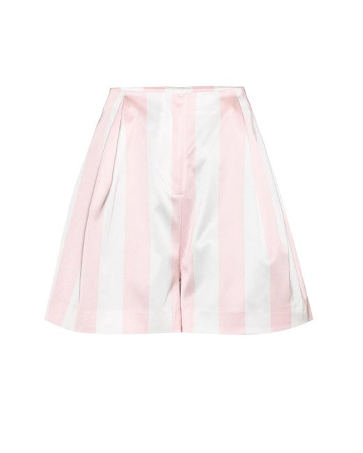 Edit | Pink Satin Shorts | Lyst
