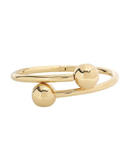 J.W. Anderson | Metallic Double Ball Bangle Bracelet | Lyst