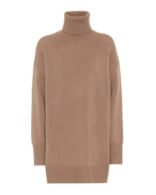 Joseph - Metallic Wool Turtleneck Sweater - Lyst