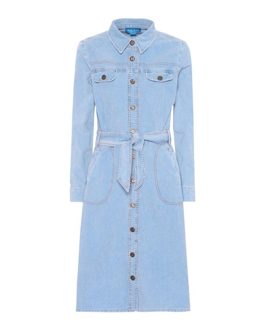 MiH Jeans | Blue Newton Corduroy Dress | Lyst