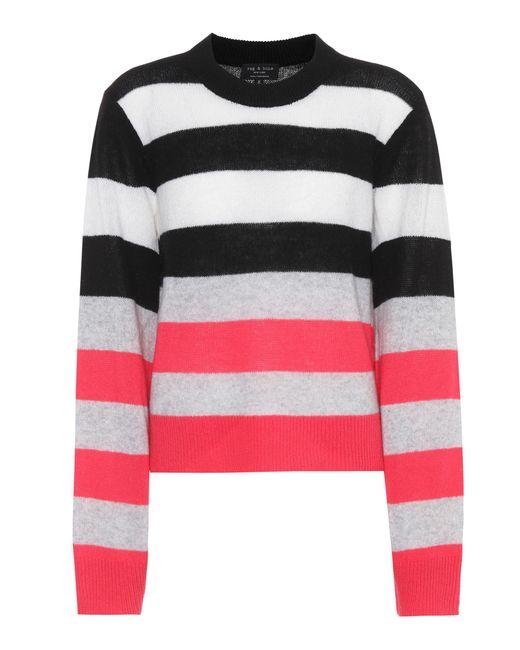 Rag & Bone | Multicolor Annika Cashmere Sweater | Lyst