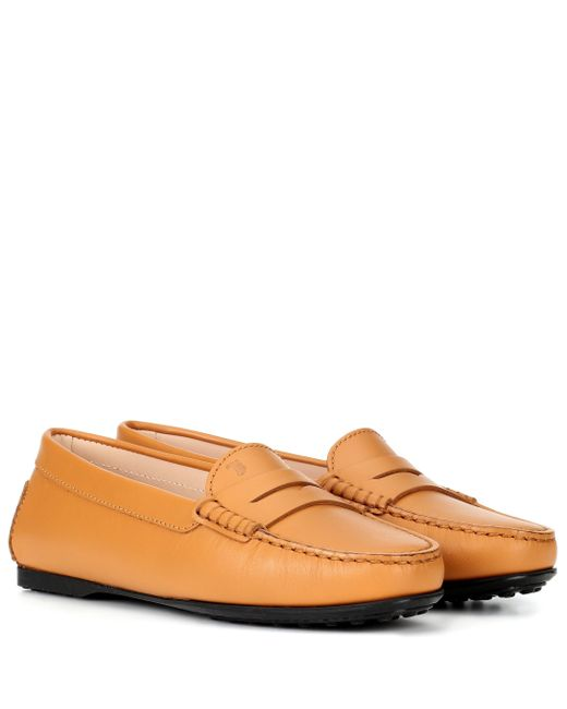 abac61adcdd Tod s - Multicolor Gommino Leather Loafers - Lyst ...