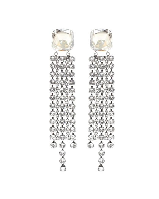 Isabel Marant | Metallic Crystal-embellished Earrings | Lyst