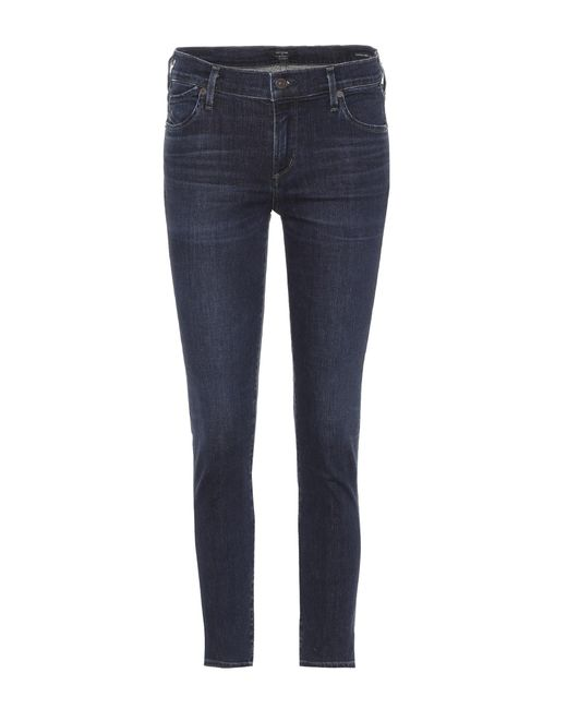 Citizens of Humanity - Blue Ultra-Skinny Ankle-Jeans Avedon - Lyst