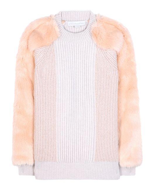 Stella McCartney - Pink Virgin Wool Sweater - Lyst