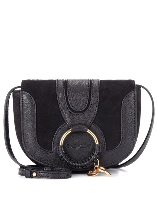 See By Chloé - Black Hana Mini Leather Shoulder Bag - Lyst