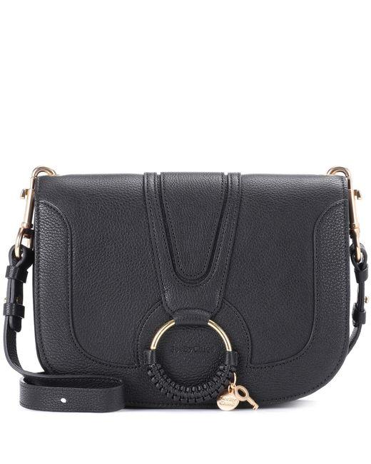 See By Chloé - Black Hana Medium Leather Shoulder Bag - Lyst