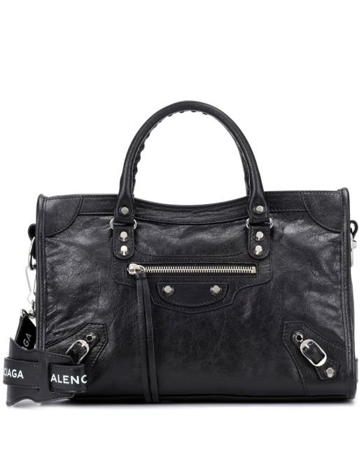 ab990312753 Balenciaga - Black Classic City S Leather Tote - Lyst ...