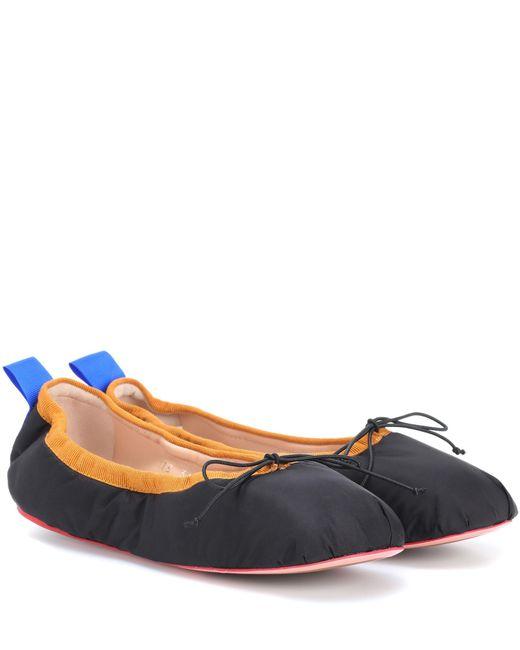 Acne - Black Pixi Ballerinas - Lyst