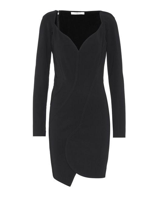 Givenchy - Black Crêpe Dress - Lyst