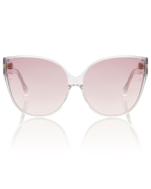 Linda Farrow - Pink 656 C12 Cat-eye Sunglasses - Lyst