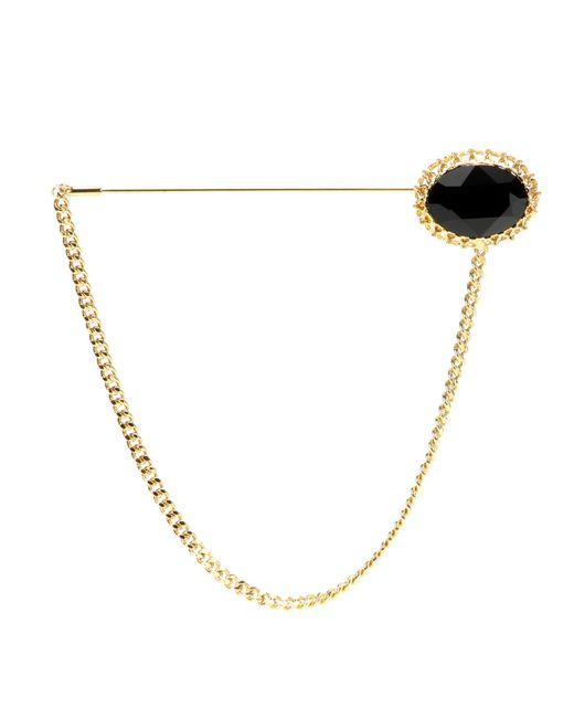Dolce & Gabbana | Black Crystal-embellished Brooch | Lyst
