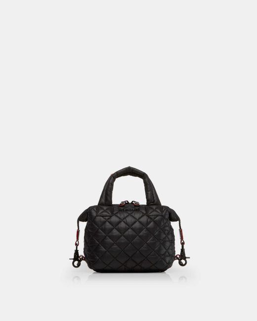 MZ Wallace - Quilted Black Micro Sutton - Lyst
