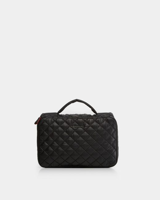 MZ Wallace | Black Zip Round Cosmetic | Lyst