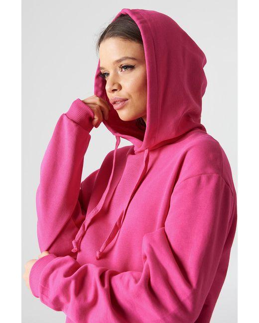 NA-KD - Pink Basic Hoodie - Lyst