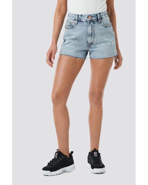 Women's Hot Pant Denim Shorts Blue