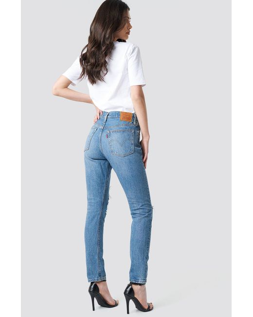tout neuf b5587 6fffc Women's 501 Skinny Jeans Blue