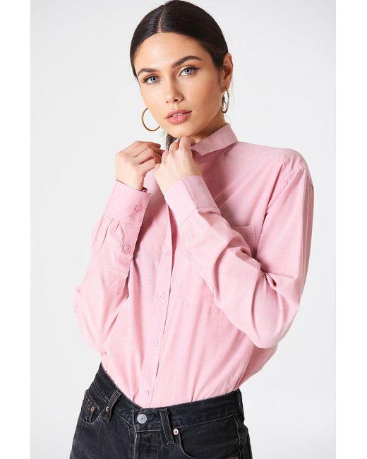 Rut&Circle - Pink Selma Chambray Shirt - Lyst
