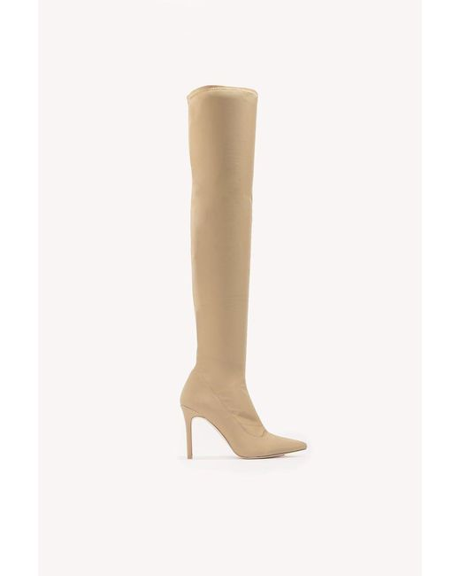 NA-KD | Brown Tight Over Knee Boot | Lyst