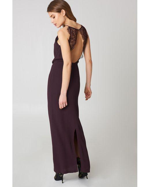 Lyst - Samsøe & Samsøe Willow Dress Long in Purple