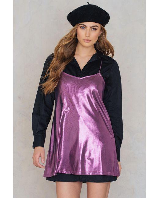 Motel Rocks Meadow Dress In Purple - Save 33%