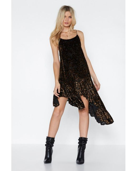 2c2d68f1eb Nasty Gal - Black Feline Better Meow Leopard Dress - Lyst ...