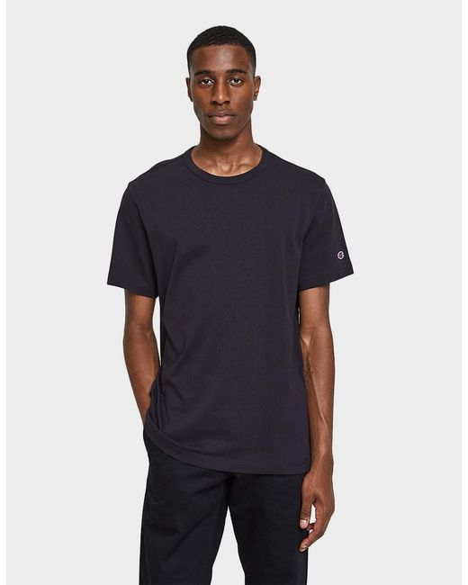 Champion - Black Rw Short Sleeve Tee Shirt for Men - Lyst