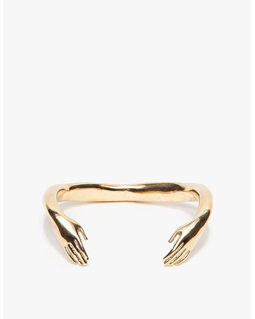 Winden Jewelry | Metallic Embrace Cuff | Lyst