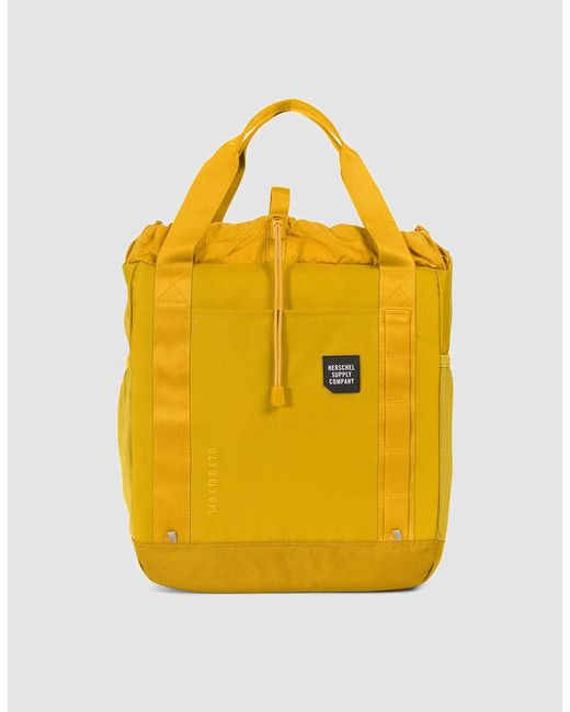 Herschel Supply Co. - Yellow Trail Barnes Tote Bag for Men - Lyst