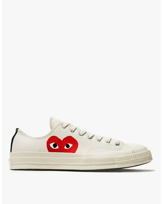 Play Comme des Garçons | Natural Play Converse Chuck Taylor Low-Top Sneakers for Men | Lyst