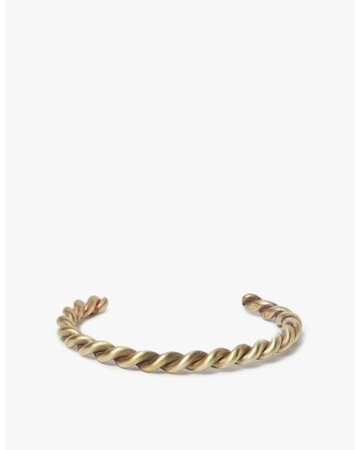 Cause and Effect | Multicolor Brass Twist Cuff | Lyst