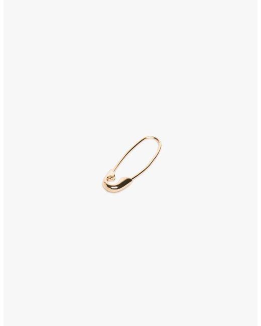 Loren Stewart - Metallic Safety Pin Earring Single - Lyst