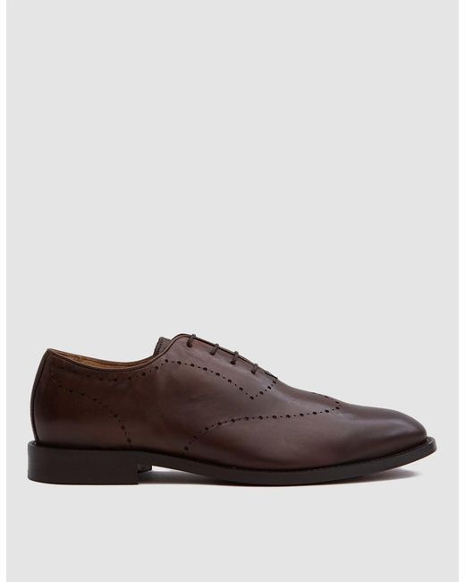 H by Hudson - Twain Calf In Brown for Men - Lyst