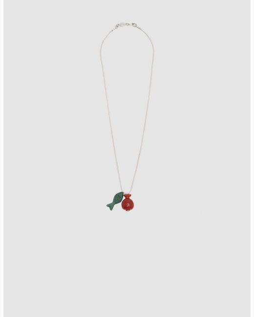 Pamela Love - Metallic Delphine Pendant Necklace - Lyst