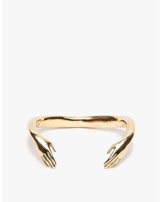 Winden Jewelry | Metallic Embrace Cuff | Lyst