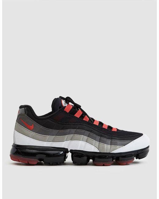 d20a010b4e426b Nike - Red Air Vapormax  95 Sneaker for Men - Lyst ...