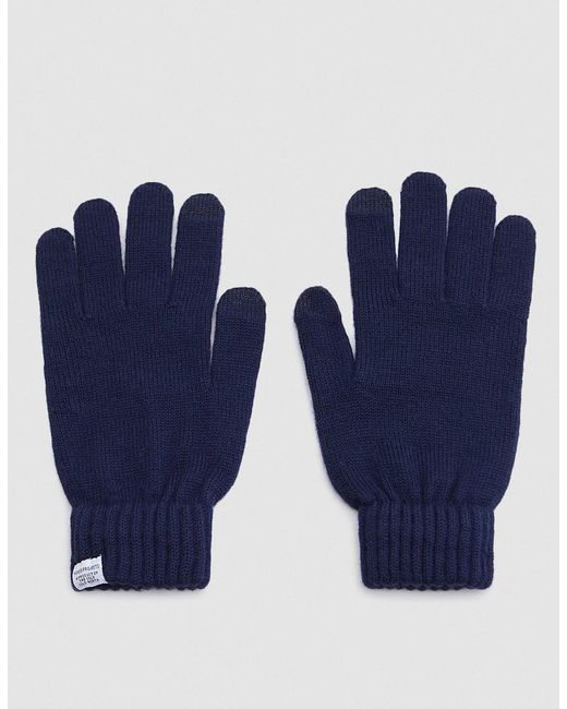 Norse Projects - Blue Norse Gloves for Men - Lyst